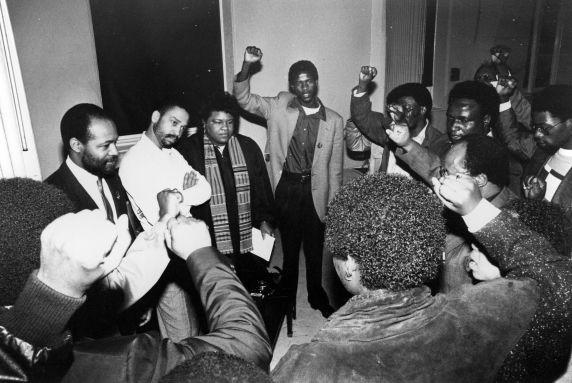 (30858) SEIU Church Vigil, Marchel Smiley, South Africa, 1987