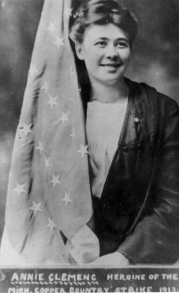 (30871) Copper Country Strike, Annie Clemenc, 1910s
