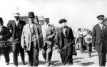 (30874) Copper Country Strike, Demonstrations, Mother Jones, Calumet, Michigan, 1913