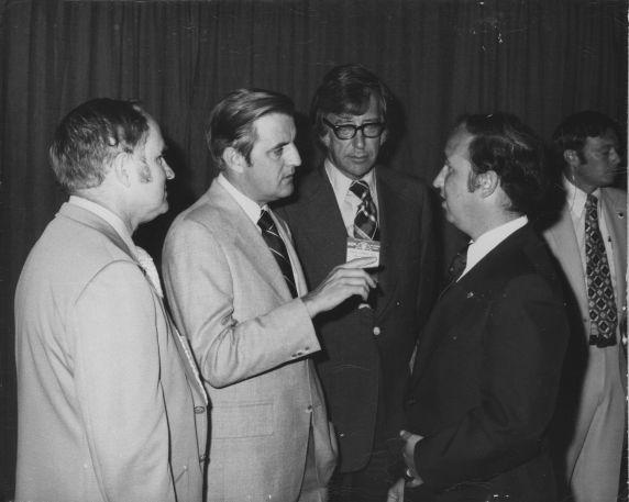 (31290) Walter Mondale, Albert Shanker and Edward McElroy