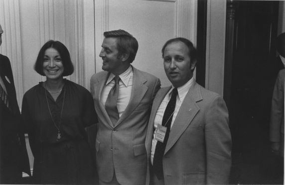 (31293) Edward McElroy, Walter Mondale and Sandra Feldman