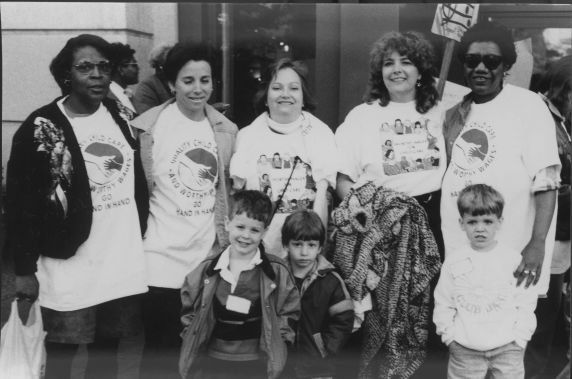(31534) Nashville Area Association on Young Children Parade and Rally