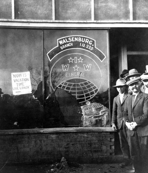 (31812) Colorado Coal Strike, Violence, Walsenburg, 1928