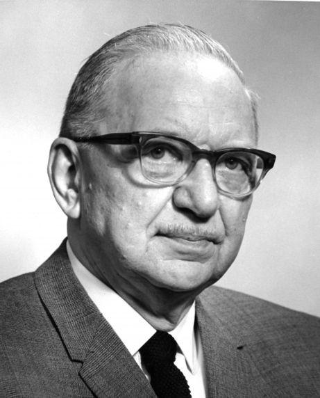 (31861) Portrait, Dr. Leslie L. Hanawalt, Detroit, 1967