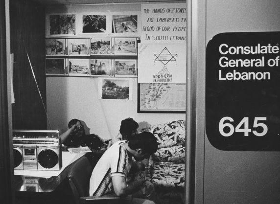 (31959) Ethnic Communities, Lebanese, Demonstrations, 1982