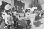 (31974) Ethnic Communities, Palestinian, Demonstrations, 1988