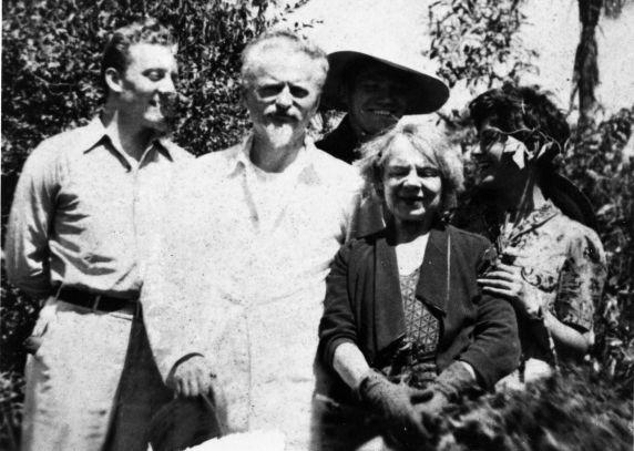 (31987) Trotsky, Hansen, Heijenoort, Dunayevskaya, Mexico, 1938