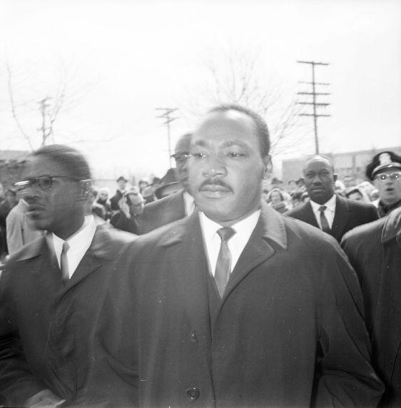 (32001) Martin Luther King, Jr., Viola Liuzzo Funeral, Detroit, 1965