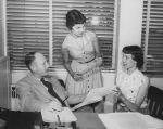 (32074) ALPA Publicity Department Staff, 1954