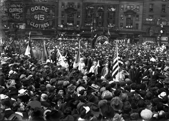 (32104) Draft & Recruitment, Deployment, Detroit, 1917-1918