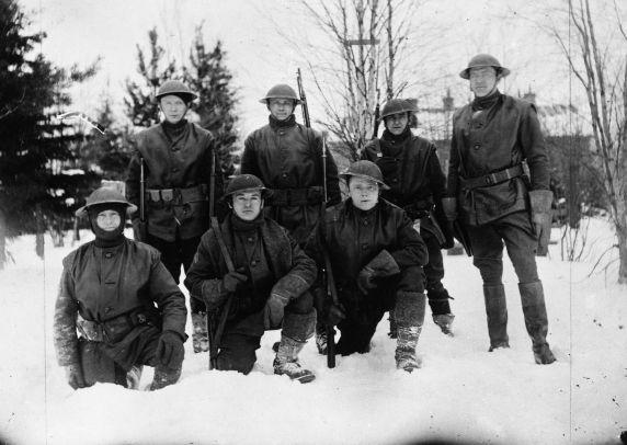 (32107) 339th Infantry, Polar Bears, Russia, 1918-1919