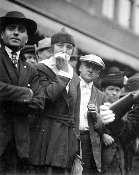 (32113) Draft & Recruitment, Deployment, Detroit, 1917