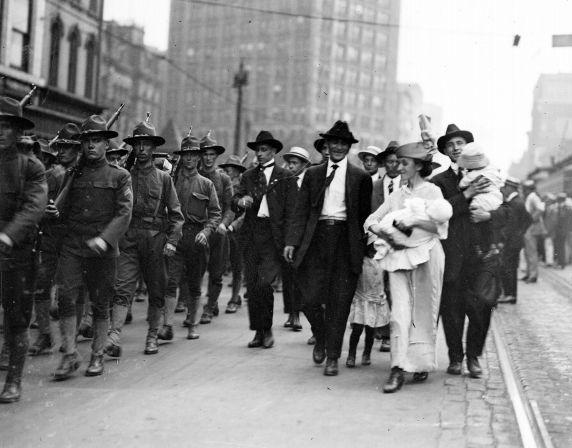 (32116) Draft & Recruitment, Deployment, Detroit, 1917-1918