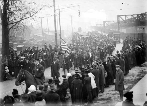 (32119) Draft & Recruitment, Deployment, Detroit, 1917-1918