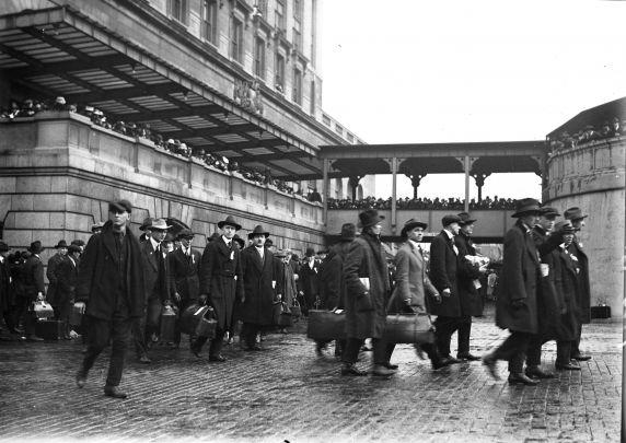(32126) Draft & Recruitment, Deployment, Detroit, 1918