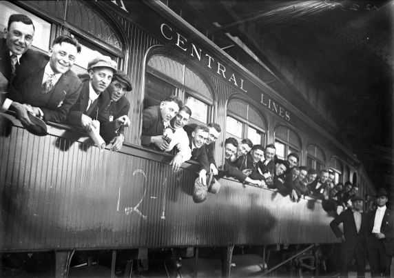 (32128) Draft & Recruitment, Deployment, Detroit 1917-1918