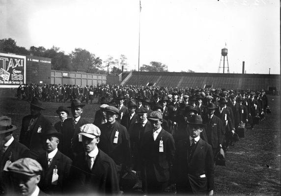 (32131) Draft & Recruitment, Deployment, Detroit, 1917-1918