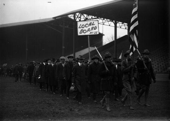 (32132) Draft & Recruitment, Deployment, Detroit, 1917-1918