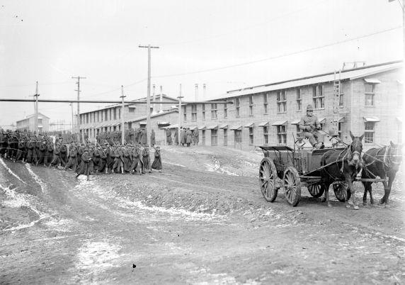 (32138) Army, Camp Custer, General Views, 1917-1918