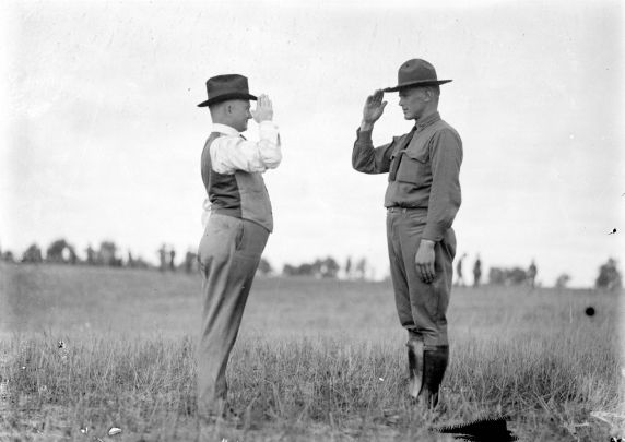 (32148) Army, Draft & Recruitment, Training Camp, 1917-1918