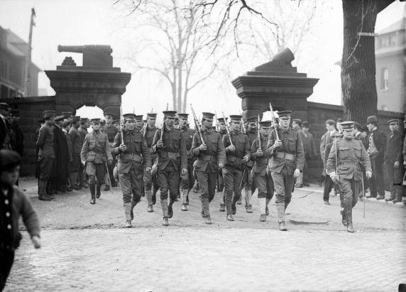 (32151) 31st Infantry, Fort Wayne, Detroit 1917-1918