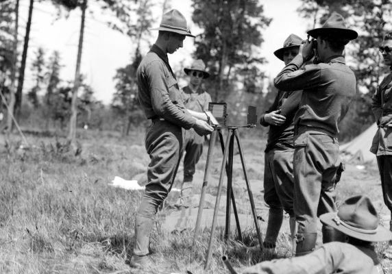 (32152) Army, Training Camp, Signal Corps, 1917-1918