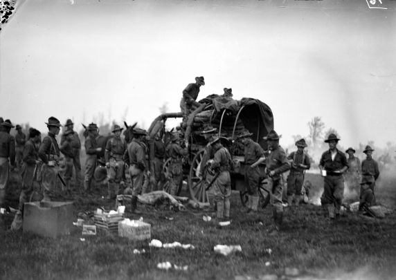(32166) Army, Training Camp, Maneuvers, 1917-1918