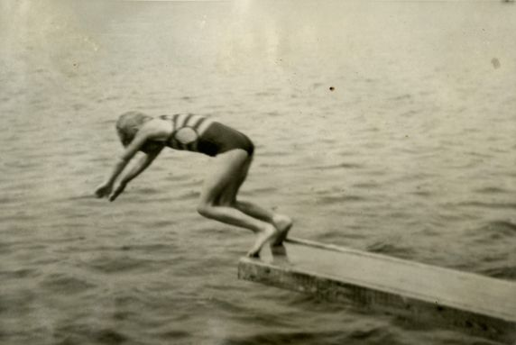 (32329) Into Brooks Lake, Merrill-Palmer Summer Camp