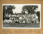 (32332) Group photograph, Merrill-Palmer Summer Camp, 1938