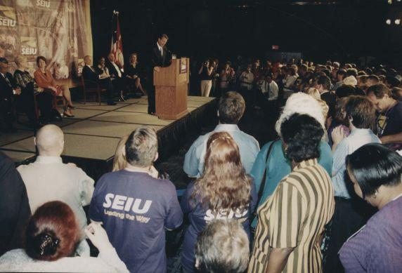 (32442) Al Gore at legislative conference, Washington DC, 1999