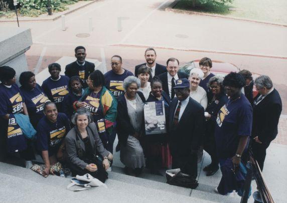(32445) Maryland needlestick bill signing, Annapolis, 1999