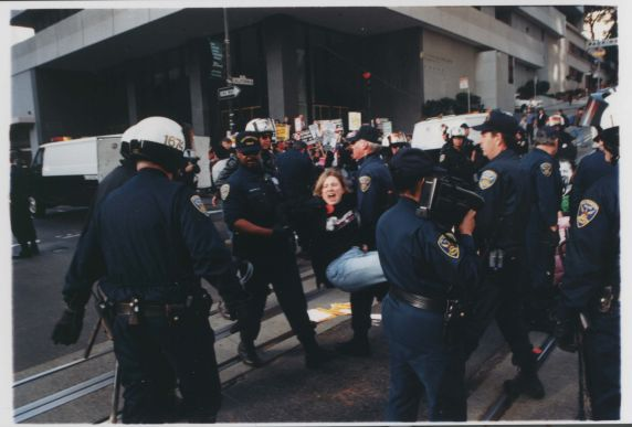 (32568) Dignity, Rights, and Respect strike and civil disobedience