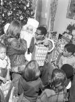 (32628) Coleman Young, Children, Christmas, Detroit, 1974