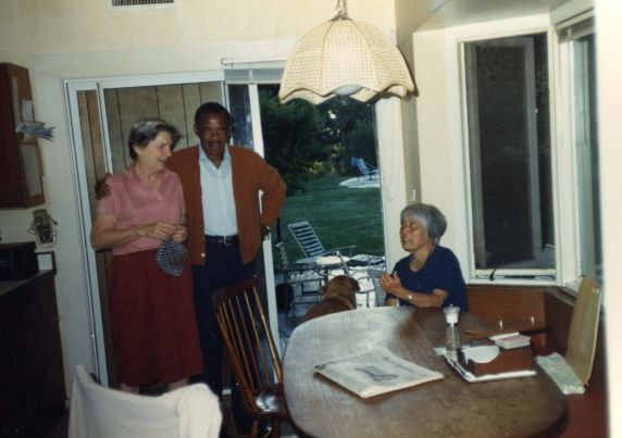 (32635) James and Grace Lee Boggs, Candid Views, 1980s-1990s