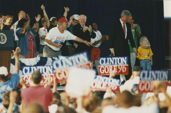 (32805) President Bill Clinton, Labor Day Rally, 1996