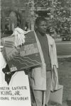 (32955) Justice for Janitors rally, demonstrator, Washington D.C., 1989