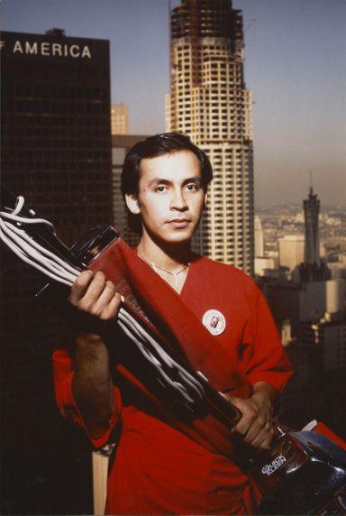 (32958) Luis Moreno, janitor and demonstrator, 1989