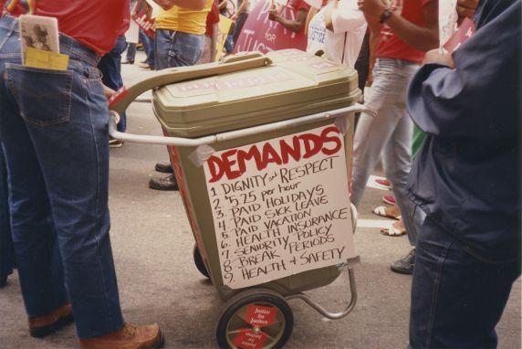(33004) J4J list of demands, Atlanta, 1988