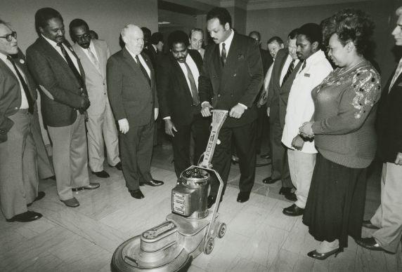 (33028) Jesse Jackson at SEIU Executive Board meeting