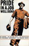 (33263) WWII, War Industry, Propogranda Posters, 1940s