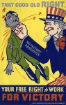 (33264) WWII, War Industry, Propogranda Posters, 1940s