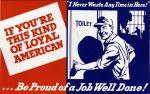 (33265) WWII, War Industry, Propogranda Posters, 1940s