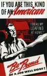 (33266) WWII, War Industry, Propogranda Posters, 1940s