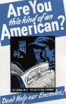 (33268) WWII, War Industry, Propogranda Posters, 1940s