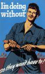 (33270) WWII, War Industry, Propogranda Posters, 1940s