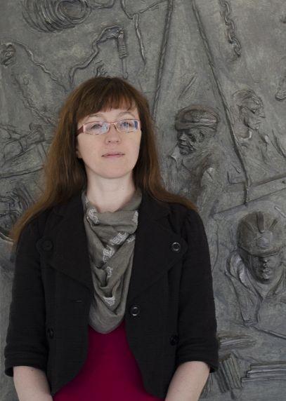 (33271) Rebecca Bizonet, Oral History Project Archvist, 2015