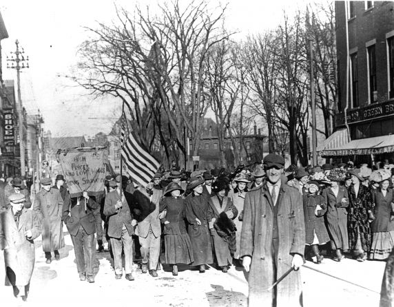(33289) Paterson Strike, Demonstration, Flynn, 1913