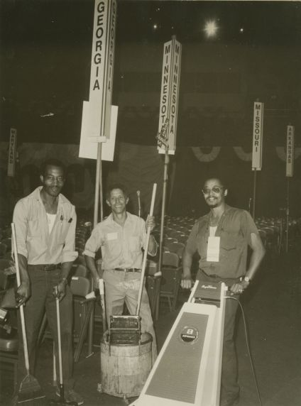(33369) Janitors at Democratic National Convention