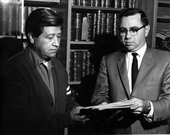 (33424) Cèsar Chàvez and Dr. Philip P. Mason