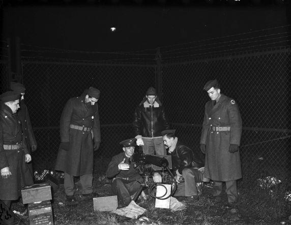 (33640) Ambassador Bridge, Defense, Selfridge Field, 1941